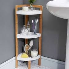 elements bamboo under sink caddy bathroom caddy white shelves