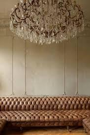Leather Chandelier Antique Leather Sofa Visualizeus