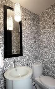 wallpaper bathroom designs best 25 bathroom wallpaper ideas on half bathroom
