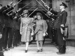 Princess Elizabeth Queen Elizabeth Ii And Princess Margaret Rose