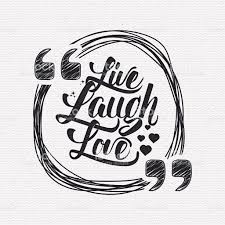live laugh love signs live laugh love hand lettering quote stock vector art 502461390
