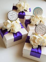 jewelry box favors wedding favors bridal shwer favor purple violet ivory ring jewelry