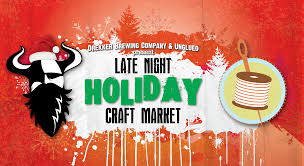 late night holiday market drekker brewing co
