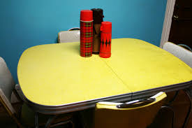 Vintage Formica Kitchen Table And Chairs by Bleubird Blog Thrifting