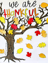 Thanksgiving In The Classroom The Designer Teacher 5 Ways To Cultivate Gratitude In The