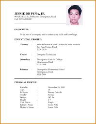 curriculum vitae for job application pdf template exle curriculum vitae format for job application pdf