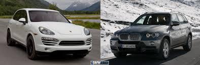 porsche cayenne vs bmw x5 2012 bmw x5 35d vs 2013 porsche cayenne diesel