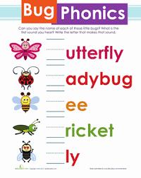 bug phonics worksheet education com