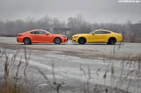 lexus lf lc dane techniczne ford mustang gt vs lexus rc f porównanie autowizja pl
