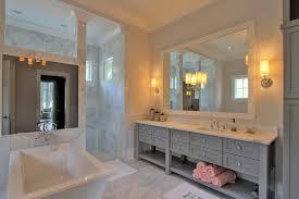 Frameless Bathroom Mirror Large Standard Height For Bathroom Vanity Mirror Home Vanity Decoration
