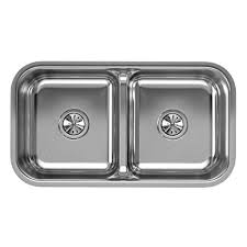 stainless steel double bowl undermount sink elkay lustertone eaqduh3118 equal double bowl undermount stainless