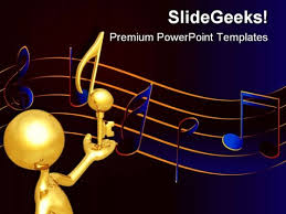 music powerpoint themes