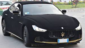 maserati gray someone wrapped a maserati ghibli in velvet and nothing makes