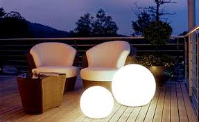 outdoor lighting globes design ideas for patio and home garden