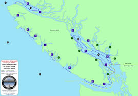 Map Of Bc Water Classification Map Bc South Coast U0026 Vancouver Island