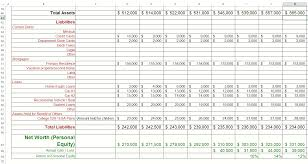 Financial Tracking Spreadsheet Net Worth Calculation Spreadsheet Healthywealthywiseproject