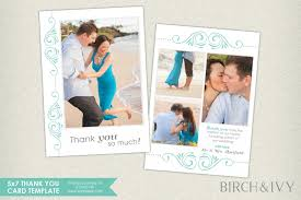 thank you card pictures collection of 5x7 thank you cards folded