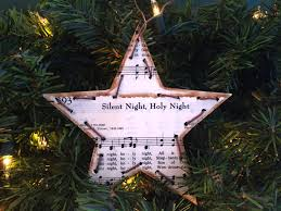 christmas music ornament christmas hymn ornament sheet music