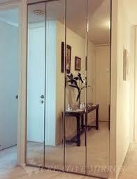Sliding Bifold Closet Doors Impact Plus 36 In X 80 In Mir Mel Mirror Solid Primed Mdf