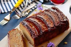 the best ever upside down banana bread easy and delish