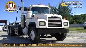 used mack trucks mack roll off trucks on mack images tractor service and repair