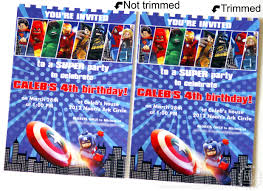 Lego Invitation Cards Cards Ideas With Marvel Superhero Invitations Hd Images Picture