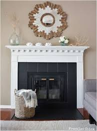 Diy Fireplace Cover Up Best 25 Tile Around Fireplace Ideas On Pinterest Tiled