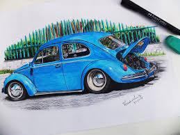 old volkswagen drawing eduardocbs eduardo maciel deviantart