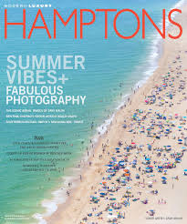 fine art photographer gray malin graces cover of hamptons magazine