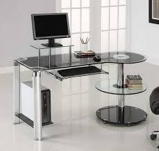 Futuristic Computer Desk Glass Computer Desk Office Desks Futuristic Photograph Best Home