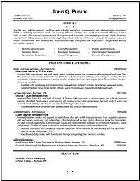 Administrative Manager Resume Sample by Download How To Construct A Resume Haadyaooverbayresort Com