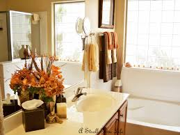 ideas on decorating a bathroom fall bathroom decor home design