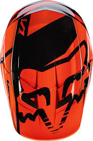 fox helmets motocross fox 2017 v1 race motocross helmet orange manchester xtreme