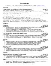Resume For Consulting Jobs by Mckinsey Resume Sample