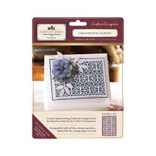 crafters companion downton metal die ornamental screen