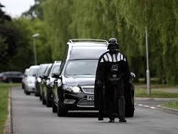 darth vader spirit halloween lorna johnson u0027s halloween themed funeral led by darth vader