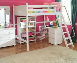 Double Deck Bed Designs Pink Full Size Bunk Bed With Desk Is Applicable To Many Modern Bunk