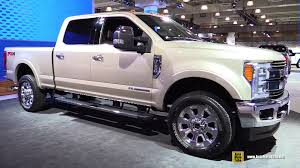 Ford Diesel Truck Generations - 2017 ford f350 super duty king ranch exterior and interior