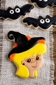 witch cookies for halloween the bearfoot baker