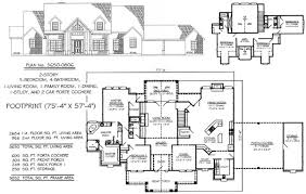 5 bedroom 4 bathroom house plans 2 story 5 bedroom house plans eldesignr
