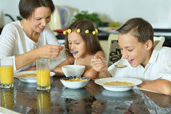 Kids Eating Table Happy Kids Eating Vegetables Stock Images 918 Photos