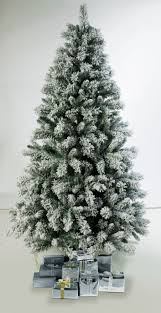 christmas tree with snow 6ft pre lit snow tipped christmas tree with 180 lights argos