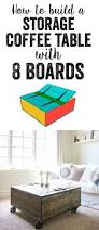 Wooden Coffee Table Plans Diy by Best 25 Coffee Table Storage Ideas On Pinterest Coffee Table