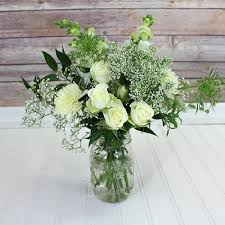 White Wedding Bouquets Blooms Vintage White Wedding Wildflower Pack Wholesale Blooms