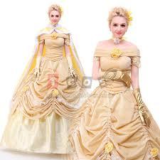 Belle Halloween Costume Women Aliexpress Buy Belle Costume Princess Belle Beauty