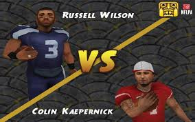 Russell Wilson Meme - temple run 2 update gameplay russell wilson vs colin kaepernick