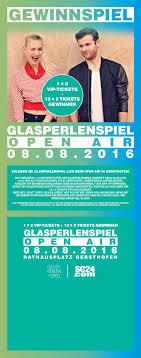 adresse si e air gewinnspiel glasperlenspiel open air tickets sc24 com