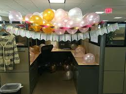 birthday cubicle decoration moreoffice idea simple decorating
