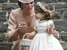 Pippa Wedding Prince George And Princess Charlotte Steal The Show At Pippa U0027s Wedding