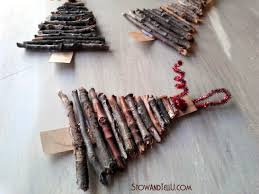 rustic twig tree ornaments stow tellu